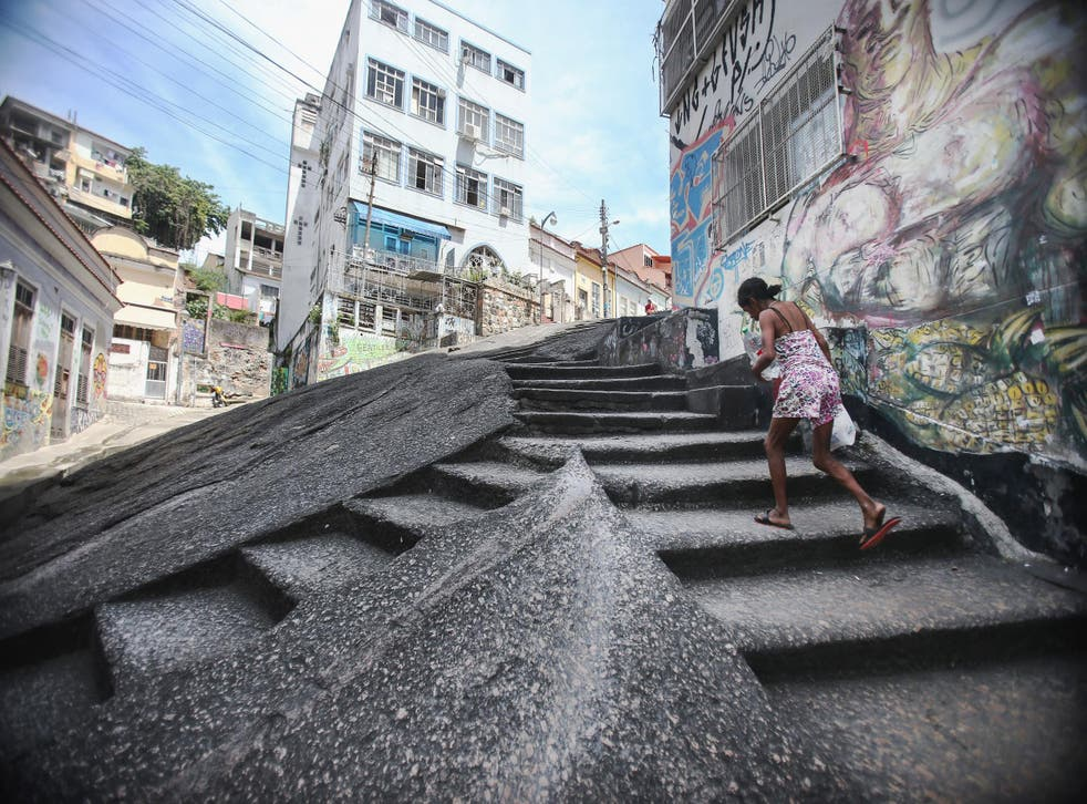 Built by enslaved Africans, the Pedra do Sal is part of Rio's black heritage - but, locals say, the authorities are whitewashing the city's history