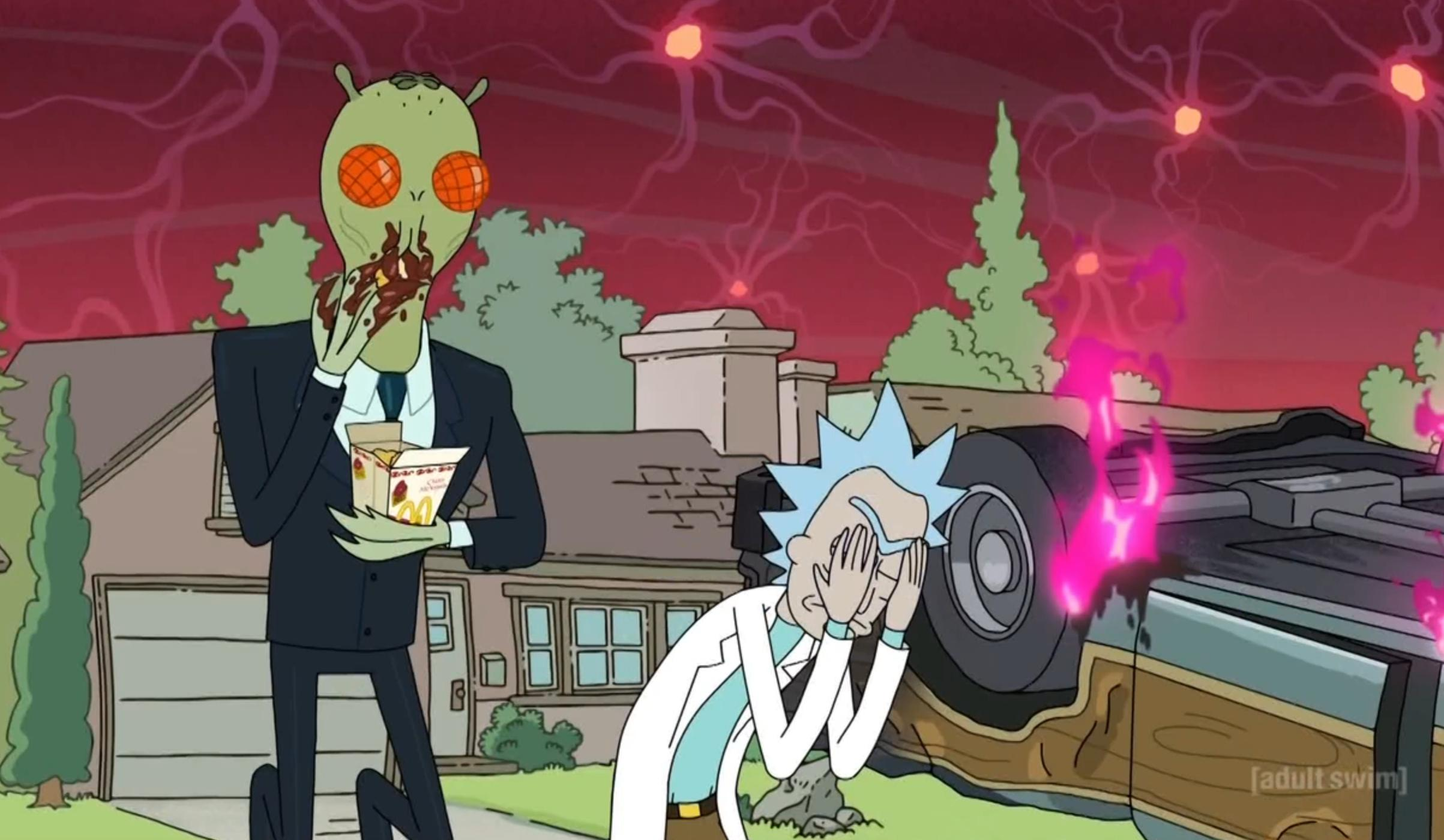 is rick and morty s real fake doors website a missed opportunity or
