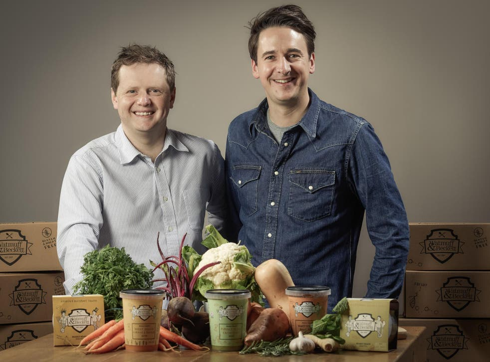 Watmuff & Beckett, a brand of upmarket ready meals, was founded in Bath six years ago by Andrew Watmuff and Michael Beckett
