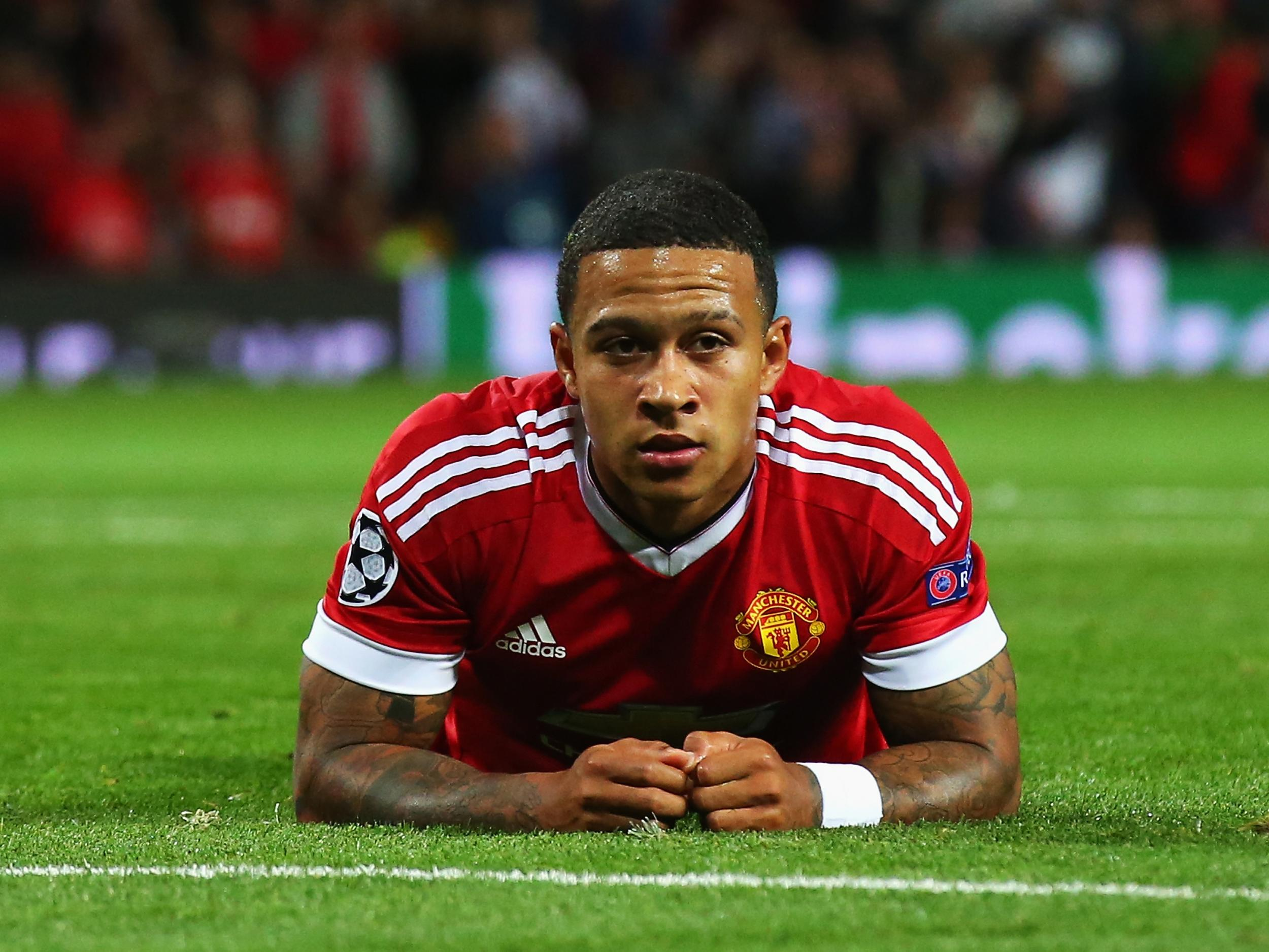 Image result for depay manchester united