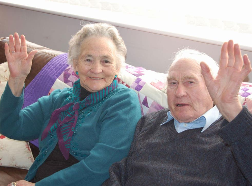 Vera and Wilf Russell got married after the Second World War