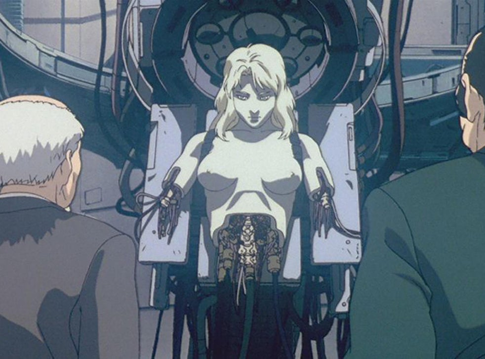 How Ghost In The Shell Ducks The Philosophical Questions Posed By A Cyborg Future The Independent The Independent