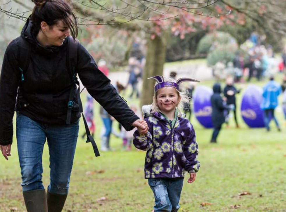 The  event was previously called an 'Easter Egg Trail' but the National Trust's website now calls it  'Cadbury Egg Hunts' on its website