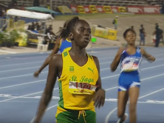 12-year-old girl dubbed new Usain Bolt runs nearly two