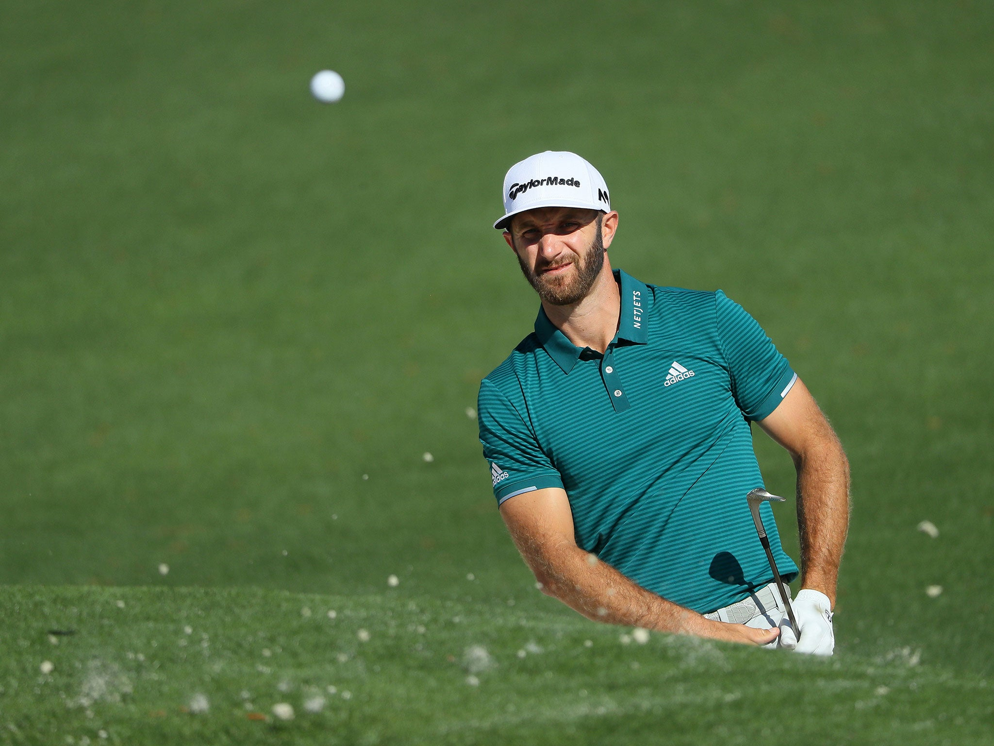 Masters tee-times: World No 1 Dustin Johnson drawn in final group for opening round | The Independentindependent_brand_ident_LOGOUntitled