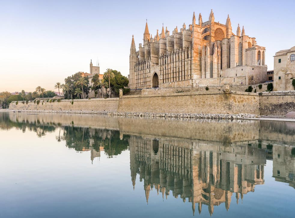 Palma offers architectural delights such as La Seu Catherdral