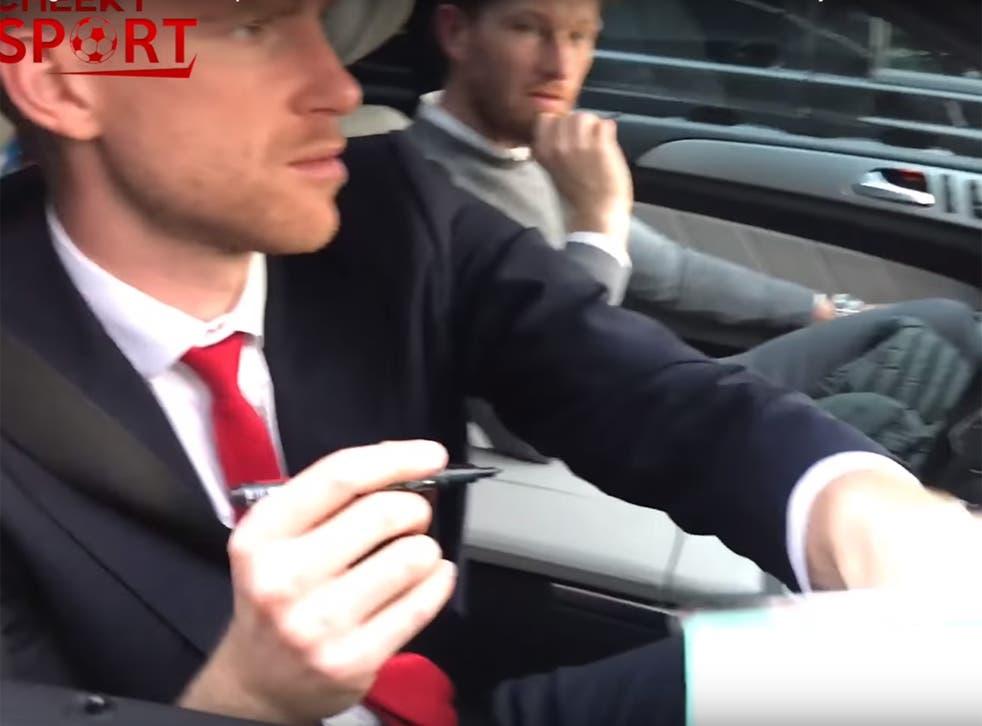 Per Mertesacker unwittingly donates to the pranksters' 'missing' Mesut Ozil fund