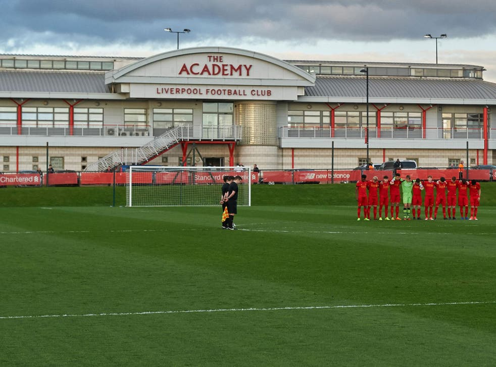 Liverpool will not be allowed to sign academy players for the next two years