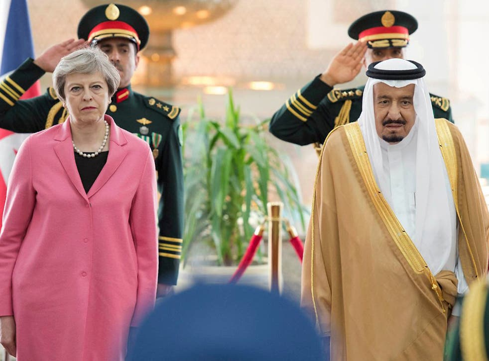 Theresa May admitted on a trip to Saudi Arabia that freedom of movement may continue after Brexit