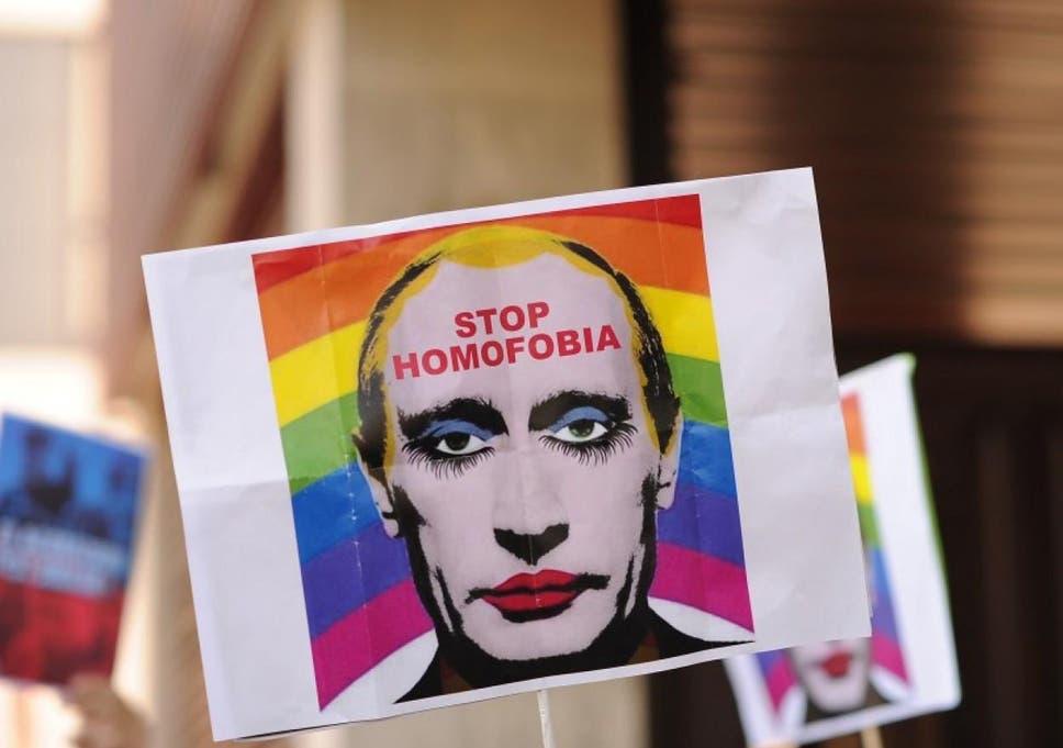 Russia cracks down on Putin 'gay clown' memes in war on