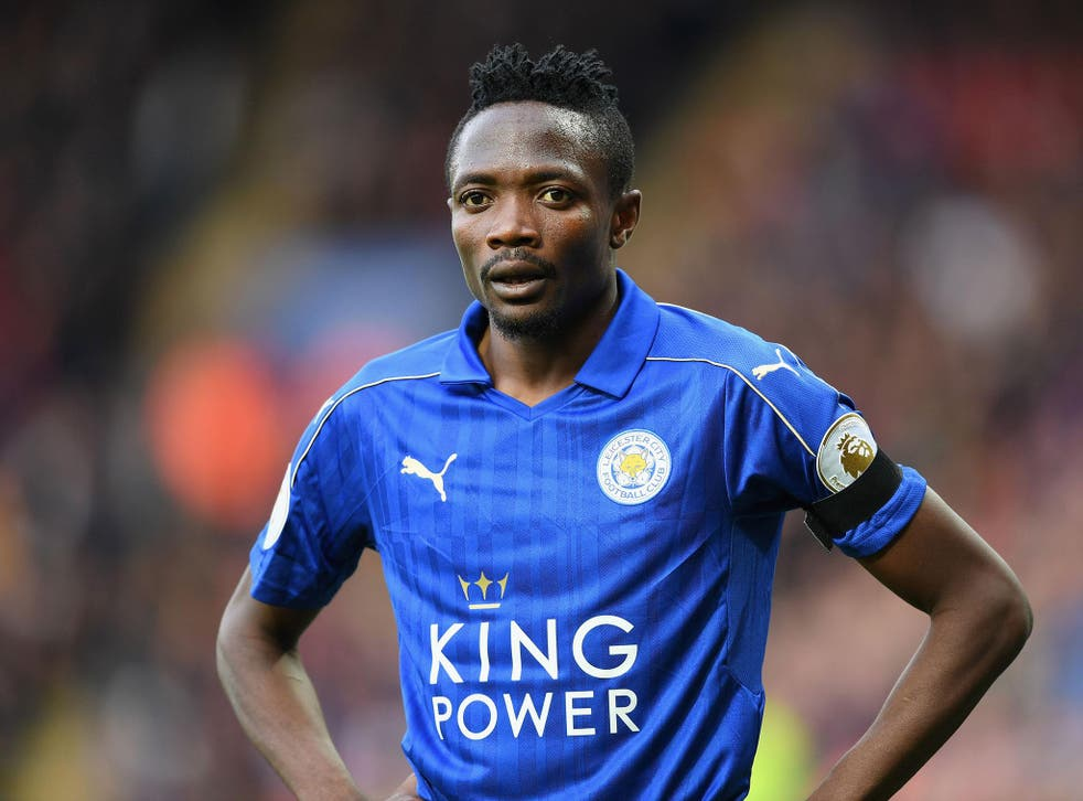 Leicester City forward Ahmed Musa was arrested in the early hours of Wednesday morning