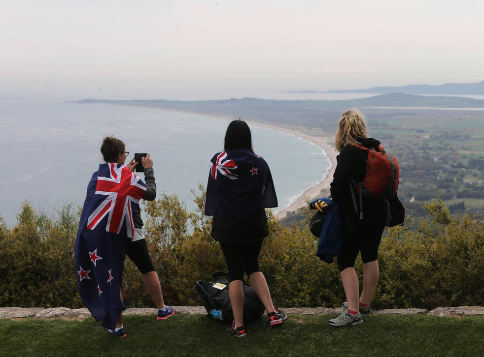 Hundreds of tourists from Australia and New Zealand are expected to attend commemorations in Gallipoli