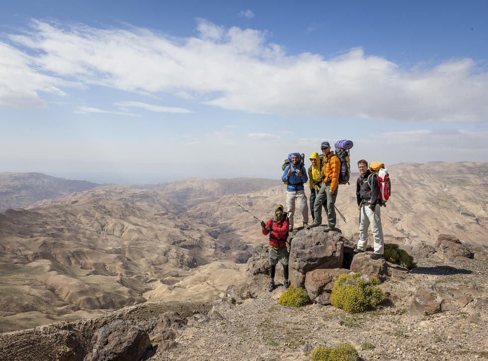 The Jordan Trail aims to bring back tourists to a country that's been hit by instability around it