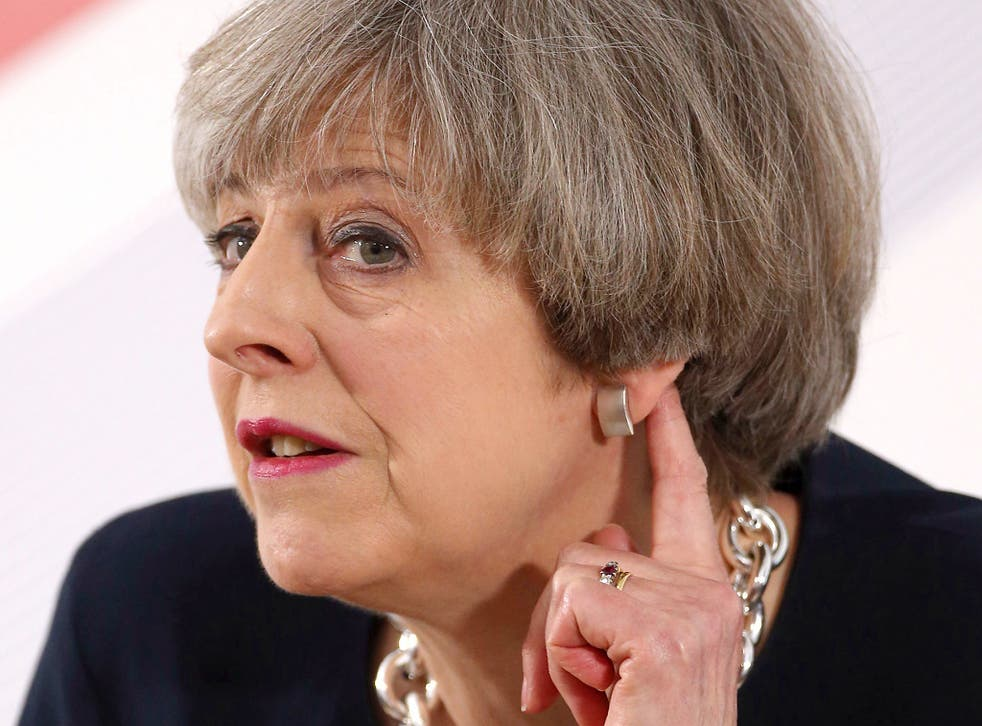 Theresa May is considered to be performing better than any other politician included in the survey