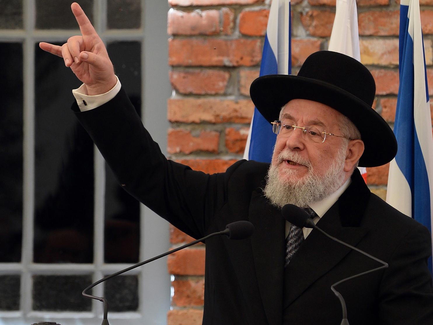 israel u2019s former chief rabbi yisrael meir lau says syrian