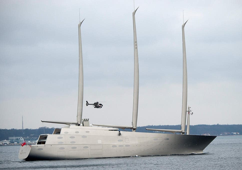 One of world's biggest superyachts 'built using illegal