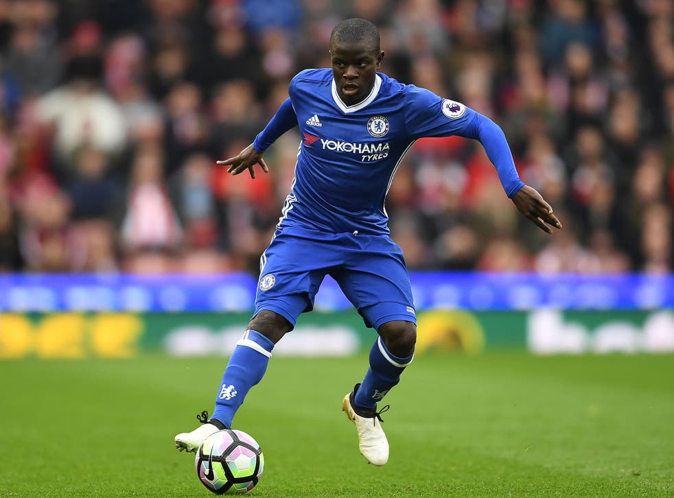 N'golo Kante has established himself as one of Antonio Conte's star players since joining last year