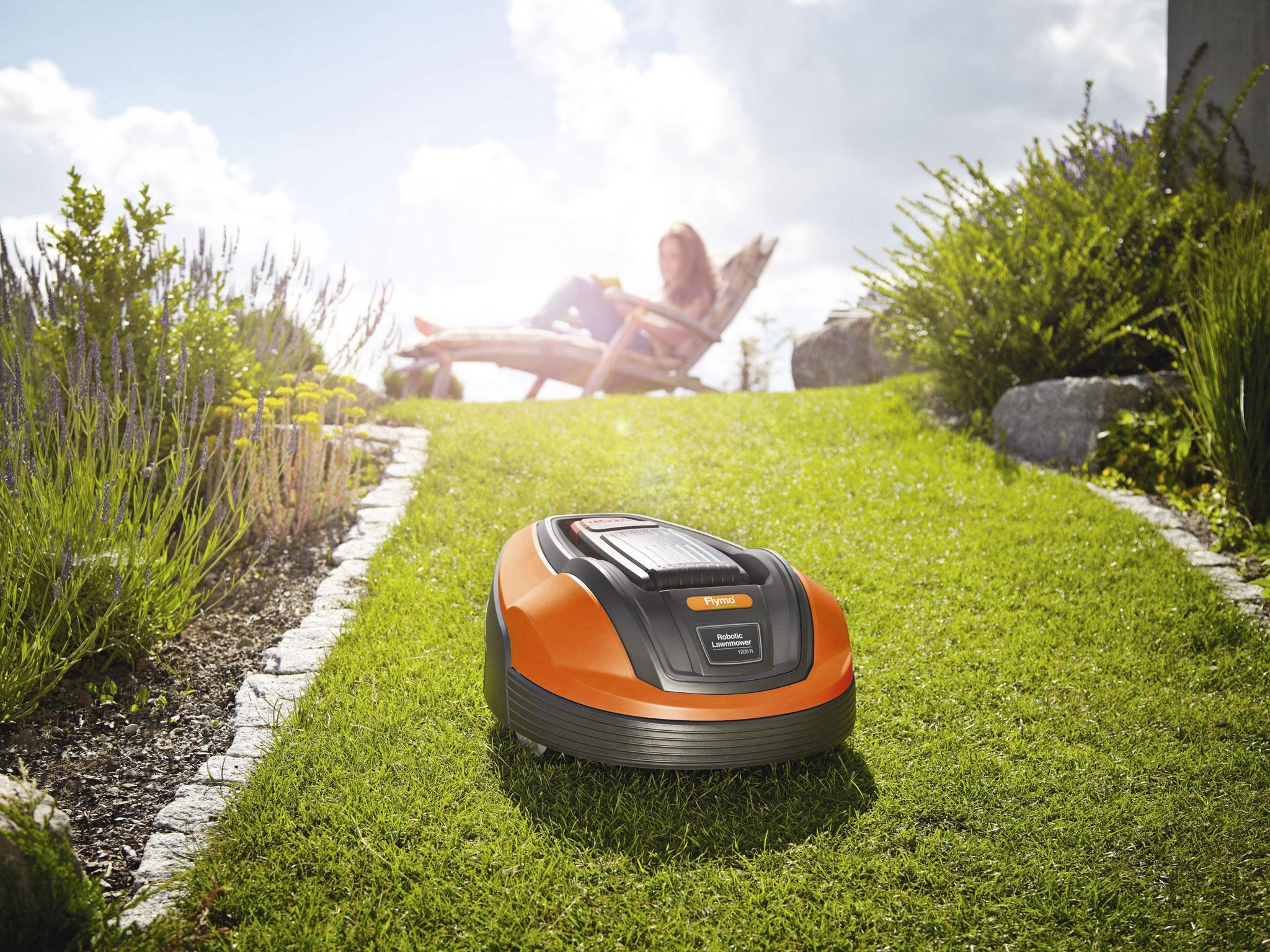 9 best robot lawnmowers the independent - Lawn mower for small spaces decor ...