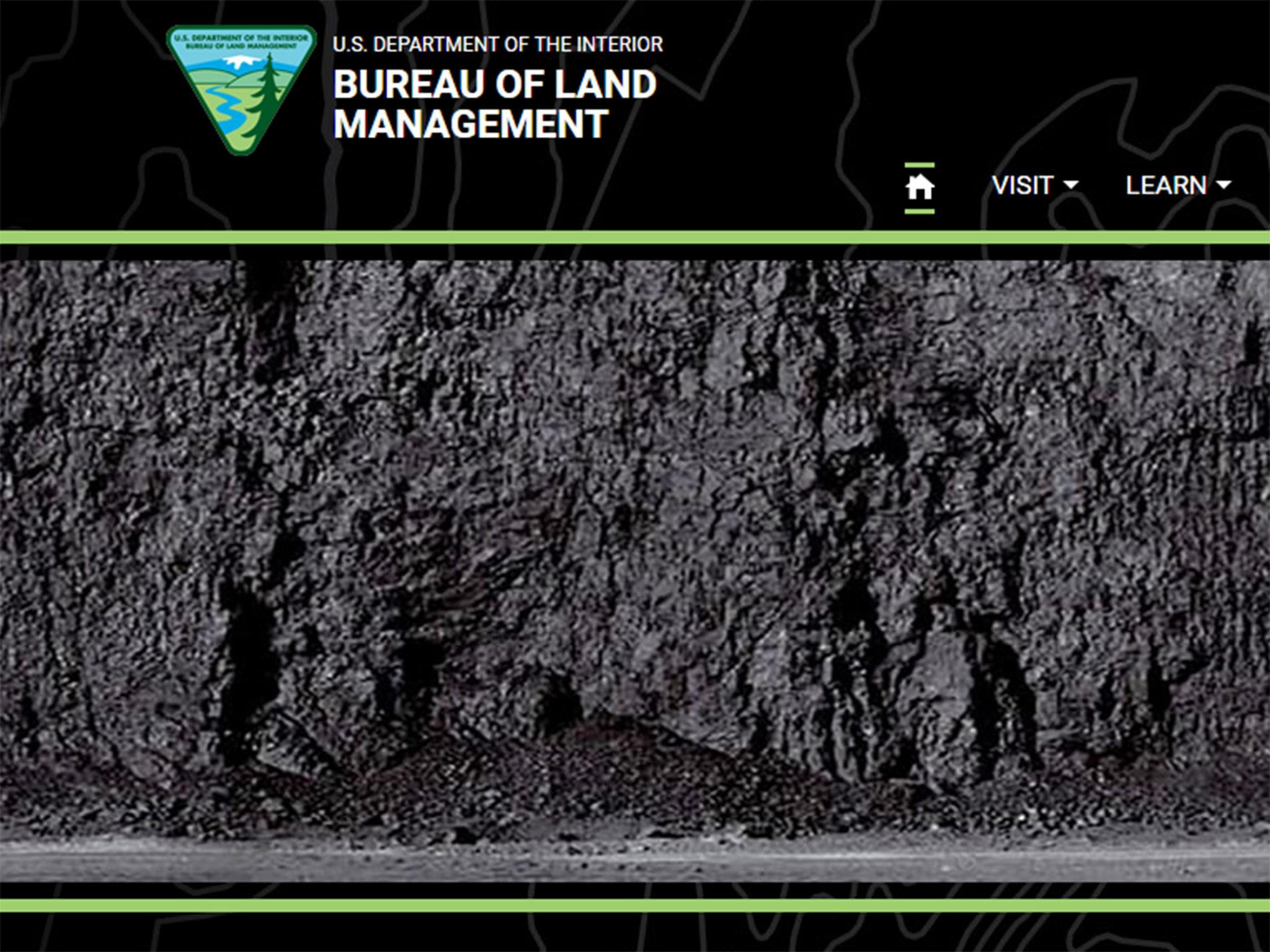 Trump s bureau of land management replaces open for Bureau land management
