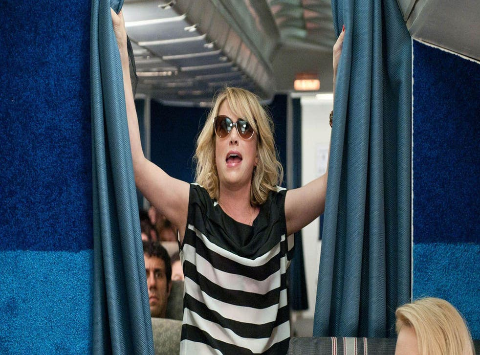 Airports may face a crackdown on selling booze to avoid passengers getting as drunk as Kristen Wiig in Bridesmaids