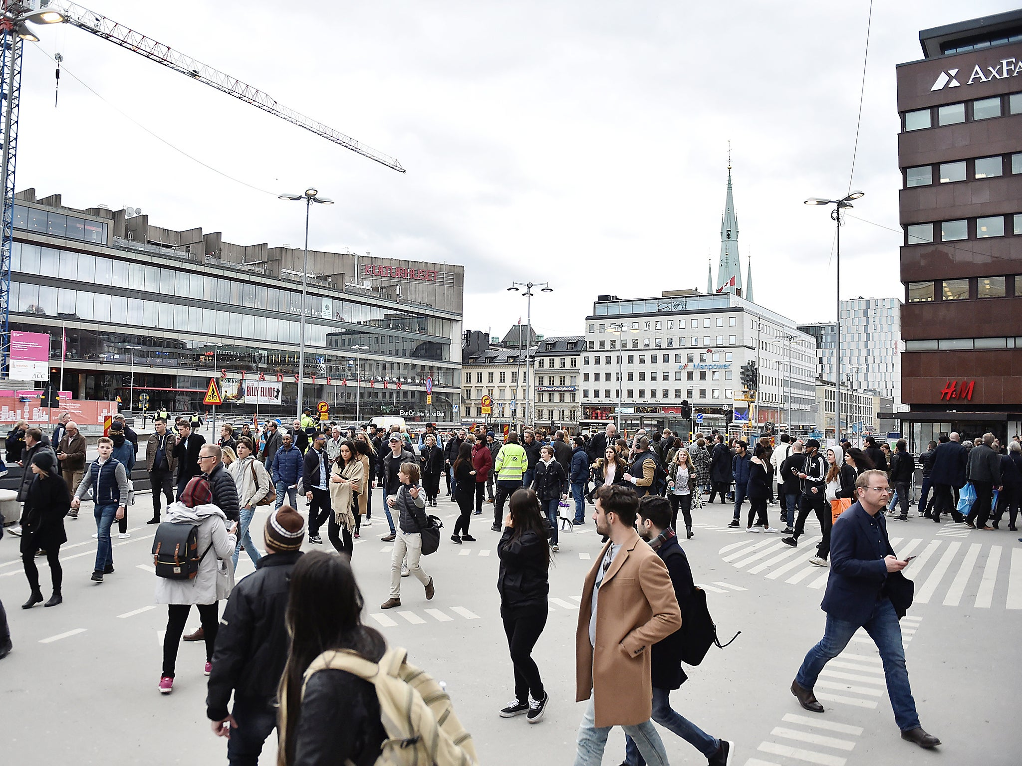 Sweden terror attack: Everything we know so far as manhunt continues ...