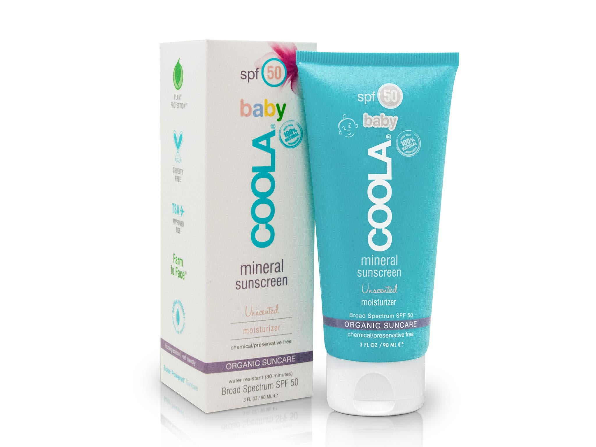 10 Best Sunscreens For Babies The Independent Sunblock Banana Boat Spf50 60ml Coola Organic Baby Mineral Sunscreen 30 90ml Marks And Spencer