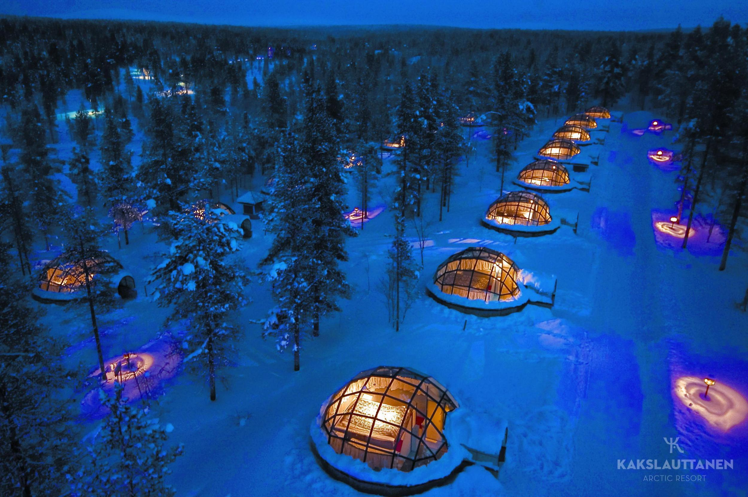 Nine of the most extreme places to stay in the world