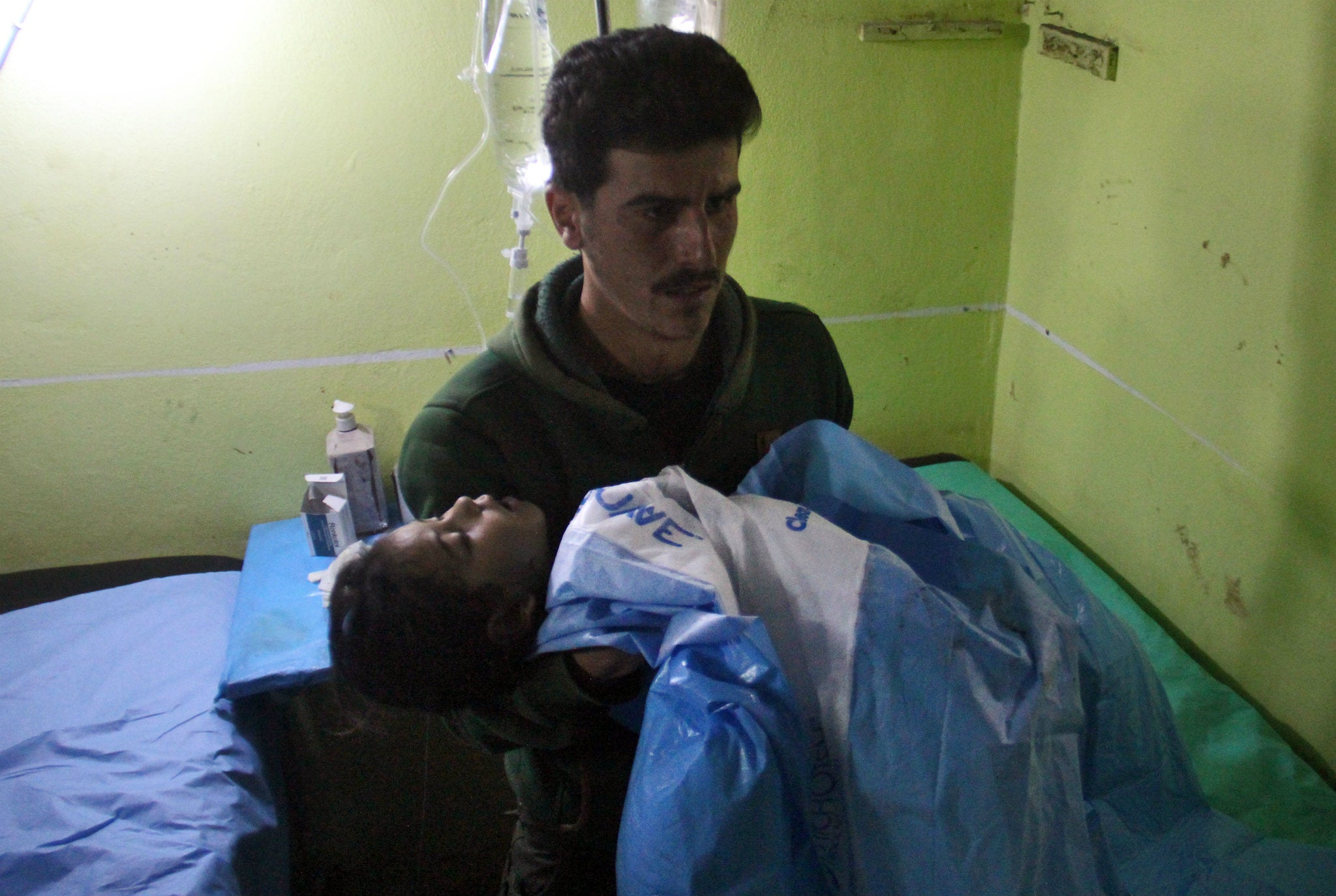 France says it has proof Assad carried out chemical attack that killed 86