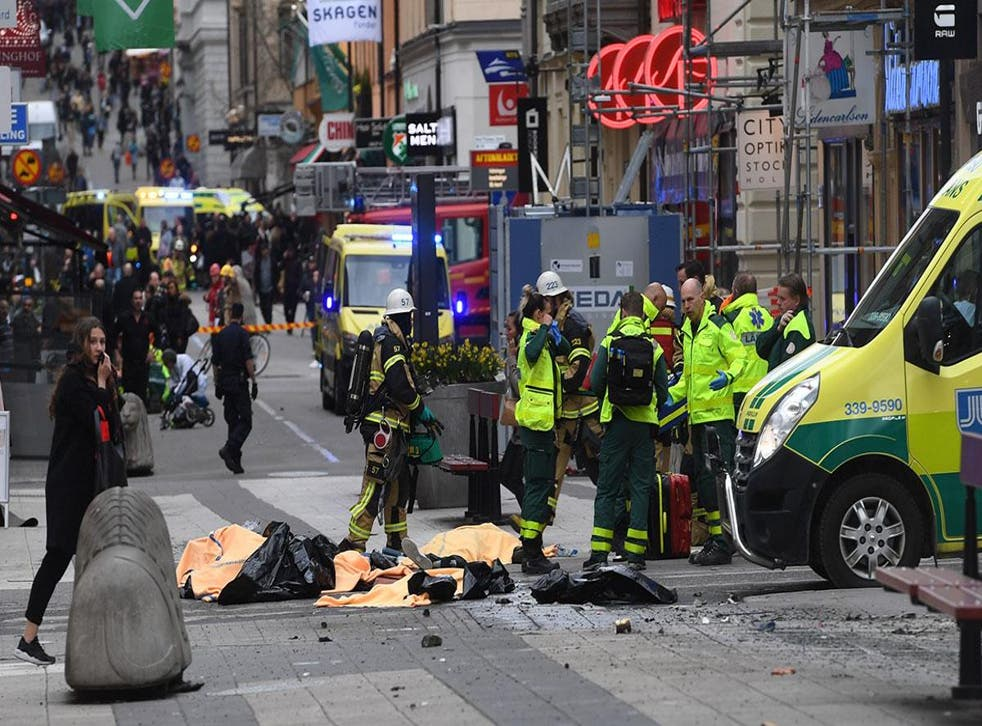 Four people were killed in the attack