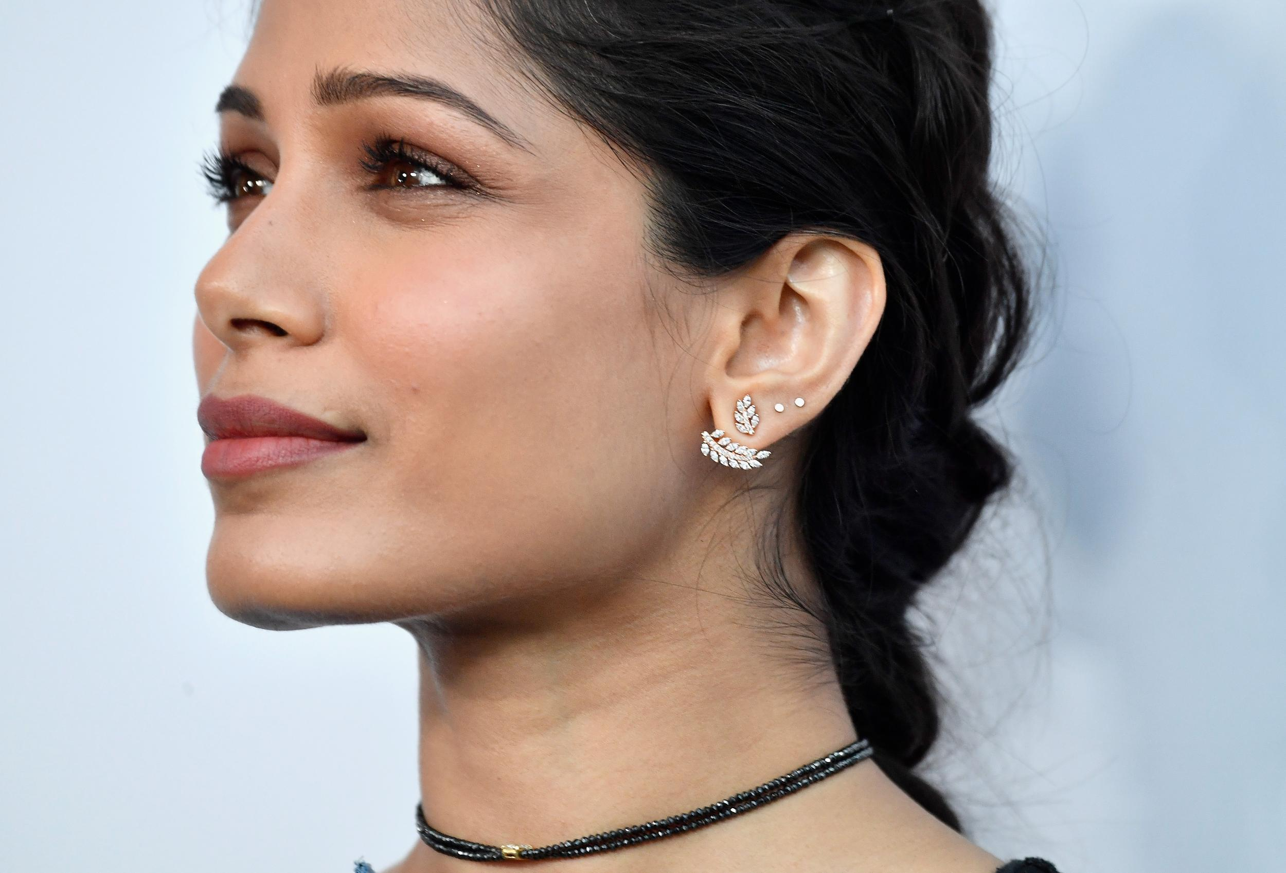 Freida Pinto 'reduced to tears' after being confronted over 'black erasure'  in Guerilla TV show | The Independent