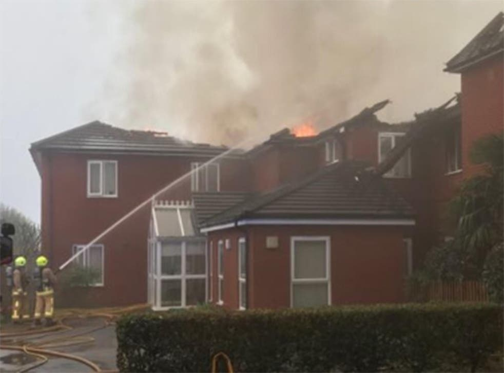 Crews made at least 33 rescues at the Newgrange care home
