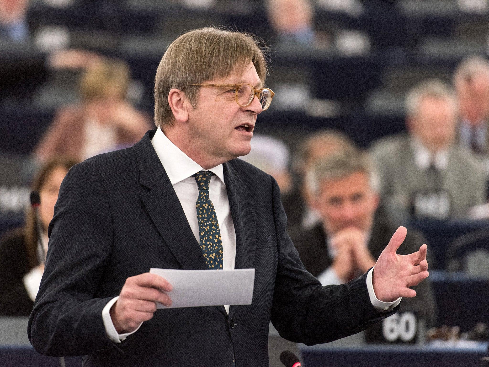 European Parliament Brexit chief accuses Britain of 'jeopardising' exit