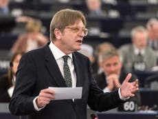 Guy Verhofstadt to knock on doors for Lib Dems in EU elections