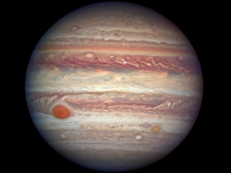 Nasa image of Jupiter shows planet in unprecedented detail