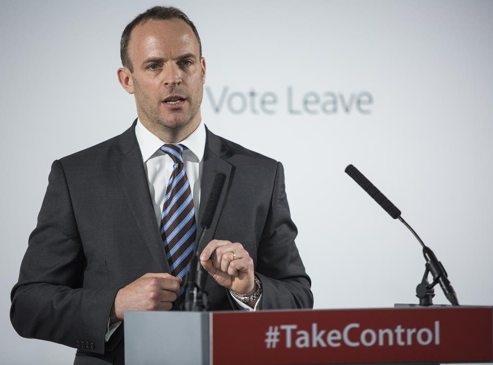 Dominic Raab: 'Low and middle income working households would be expected to stump up – or face another Labour-induced financial crisis'