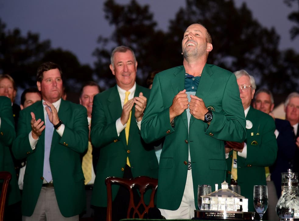 Sergio Garcia paid tribute to Seve Ballesteros after winning the Masters