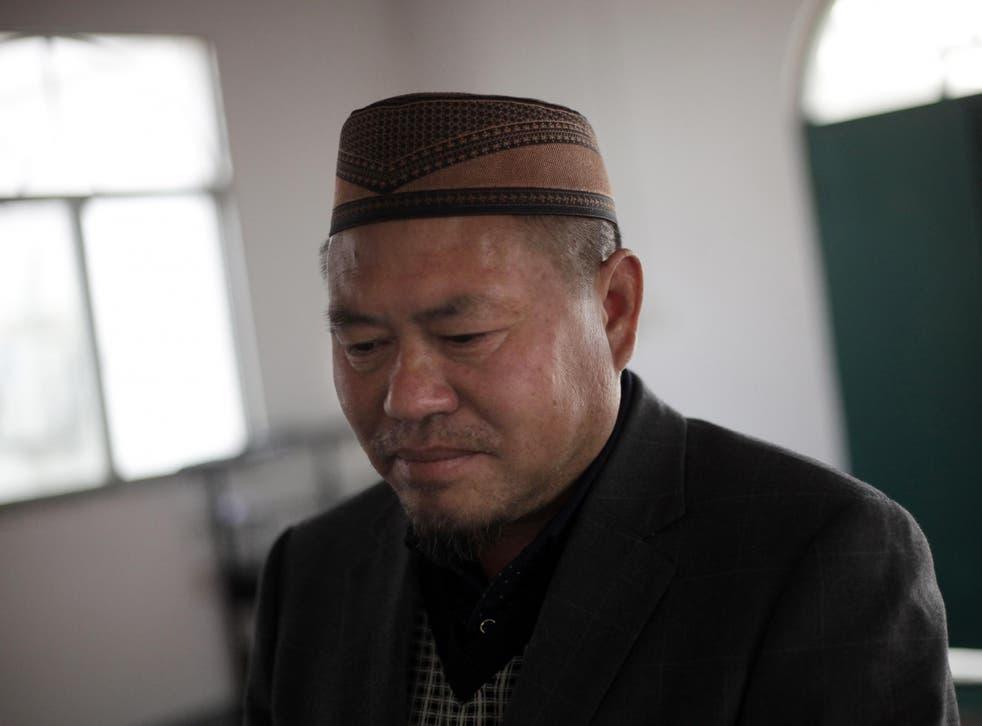 Tao Yingsheng, imam at Nangang mosque in Hefei
