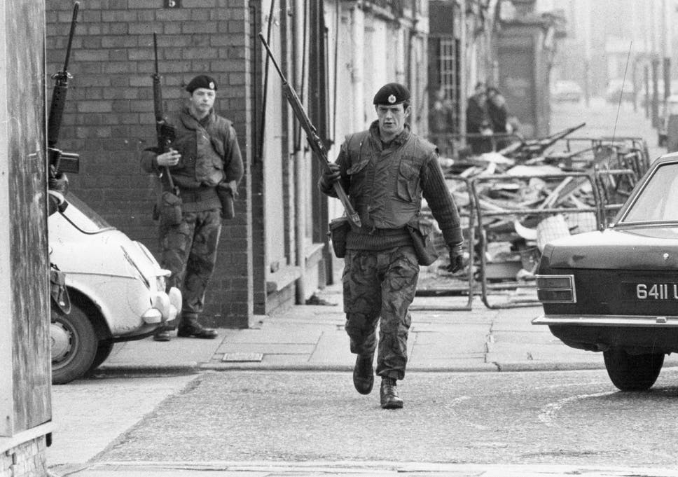 Police failed to investigate 18 murders in northern ireland to armed british soldiers patrolling the streets of belfast during the official iras unconditional ceasefire in 1972 fandeluxe Gallery