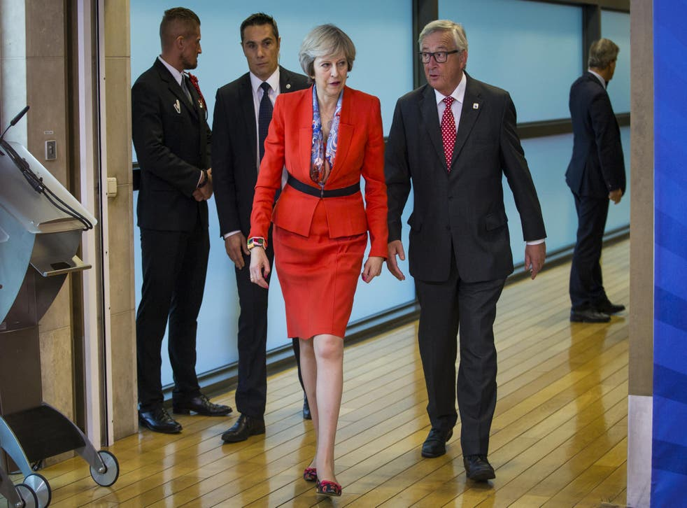 Talks between Theresa May and European Commission head Jean Claude Juncker will play a crucial role