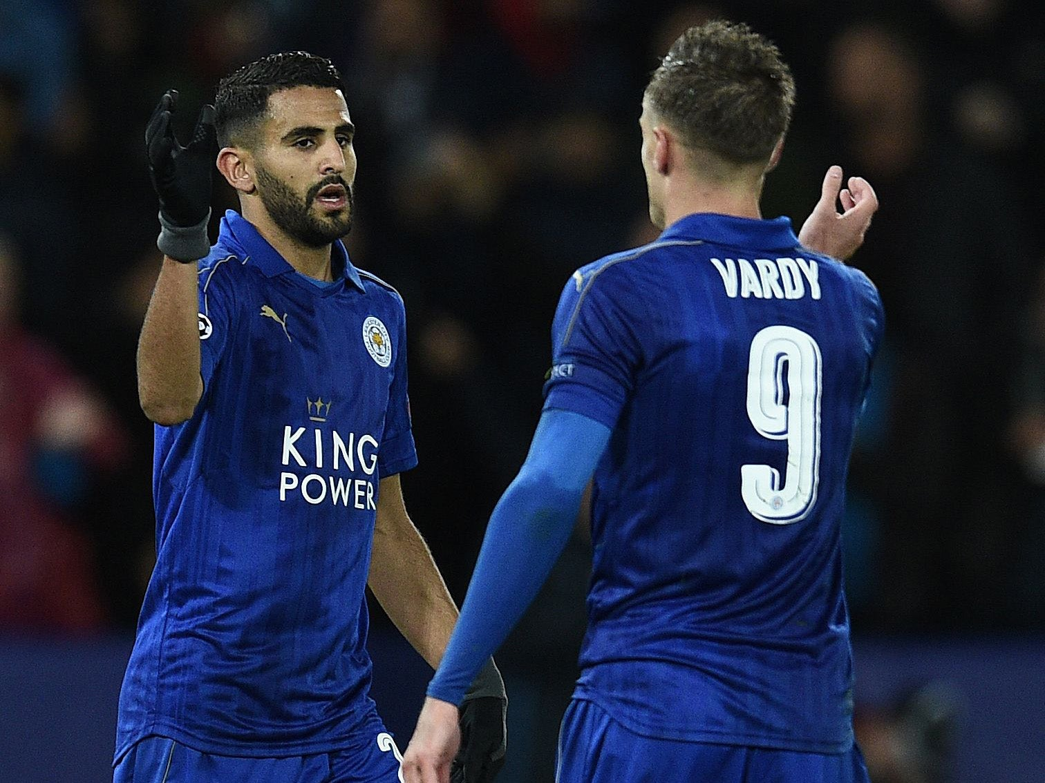 Riyad Mahrez ready to push for a move away from Leicester with