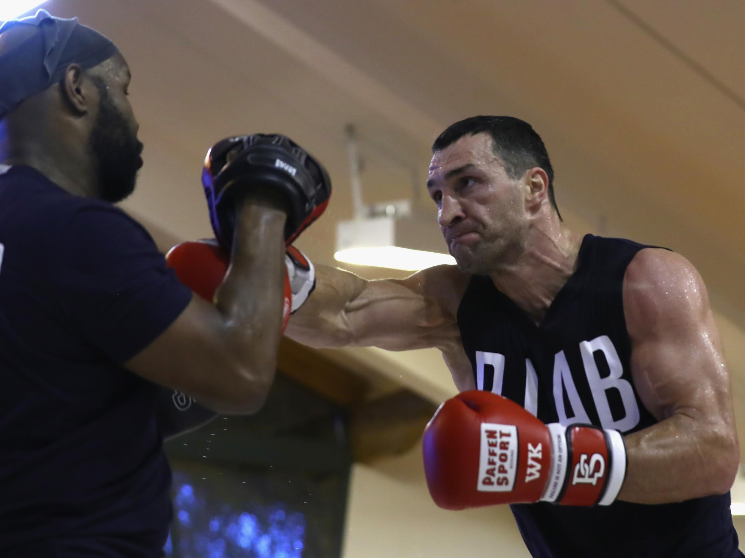 Inside Wladimir Klitschko's training camp - the closest thing to a