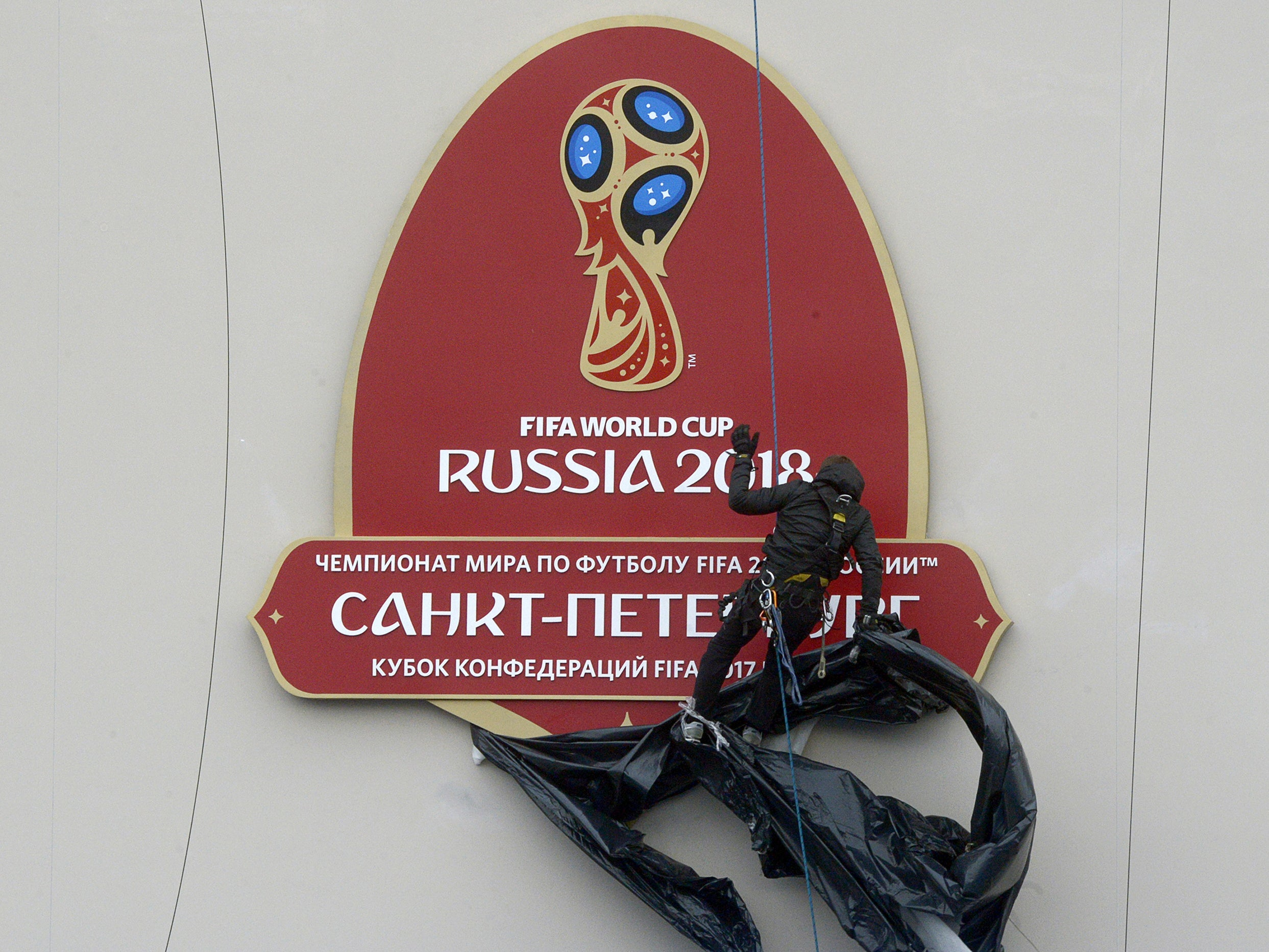 Russia worried by lacklustre ticket sales ahead of the Fifa Confederations Cup