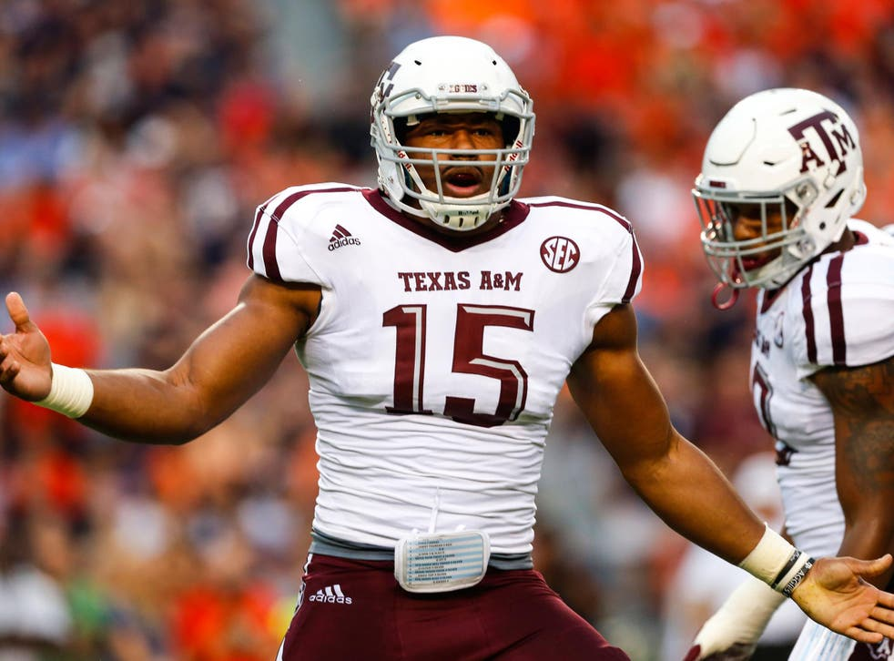 Cleveland selected Myles Garrett with the first overall pick