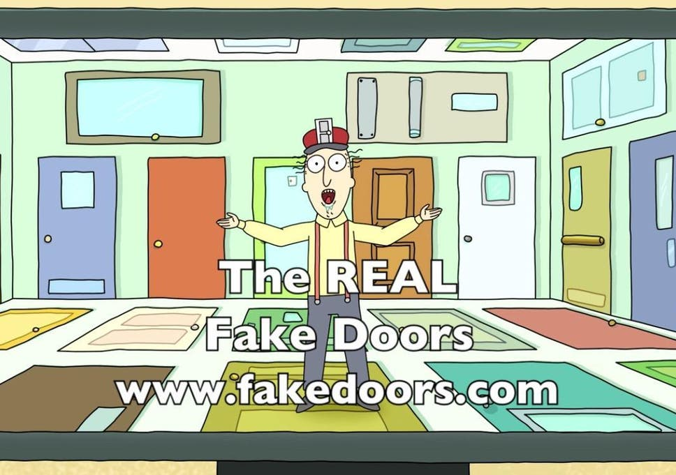 Is Rick and Morty's Real Fake Doors website a missed opportunity or