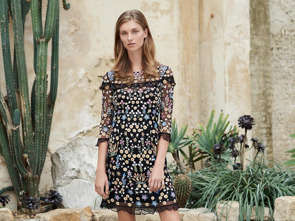 If Its A Dress Youre After We Think This Elegant Embroidered Design Fits