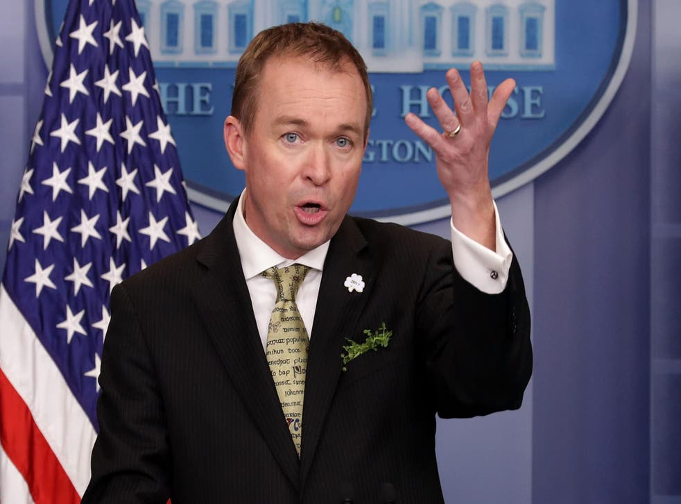 Budget Director Mick Mulvaney said the federal hiring freeze is lifted but agencies will still need to make deep personnel cuts