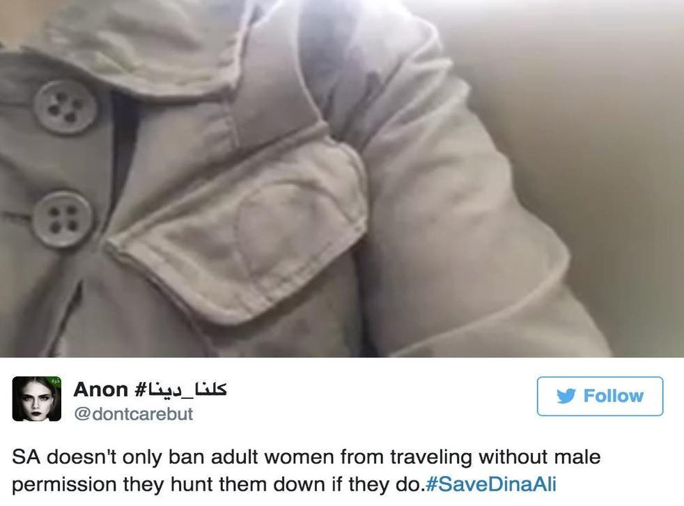 Dina Ali Lasloom recorded a distressed message reportedly from Manila airport in which she says she is afraid her family will kill her when they return to Saudi Arabia