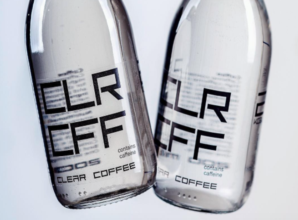 It might look like water but the brand insist it's made from high quality Arabica coffee beans