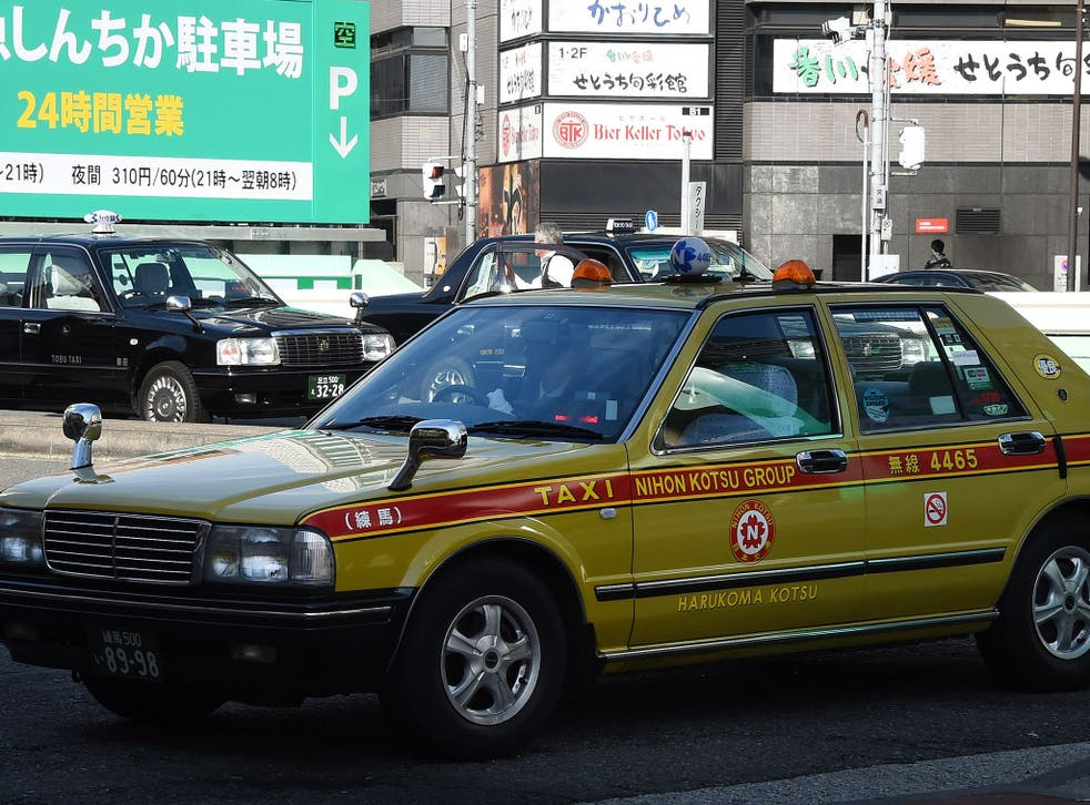 """Miyako Taxi is currently operating five """"Silence Taxis"""" across the city as part of a trial"""