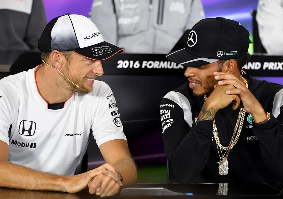 2a5e89201ba1f Lewis Hamilton would welcome back former teammate Jenson Button to the  paddock